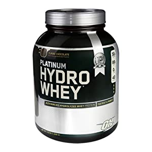 41KaEvI STL. SS300  - Optimum Nutrition Hydro Whey Whey Protein Powder Isolate with Essential Amino Acids, Glutamine, and BCAA by ON - 40 servings, 1.59kg