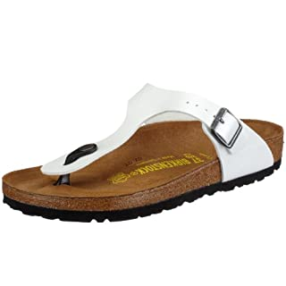 Birkenstock Gizeh BS Infradito Donna, Bianco (Ice Pearl Mondstein), 36 (Normale) (B002U17MBC) | Amazon price tracker / tracking, Amazon price history charts, Amazon price watches, Amazon price drop alerts