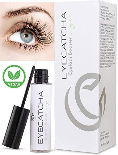 Eyecatcha Eyelash Booster 100% vegan I Wimpern Booster Serum mit natürlichen Inhaltsstoffen I Wimpernserum Wachstum Testsieger dermatologisch und augenärztlich geprüft I 3 ml