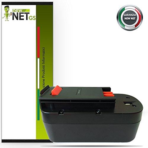 Newnet Akku für Black & Decker 18V 2500mAh XTC18BK Firestorm 18Volt Power Tools Hpb18 Ope Power Tools