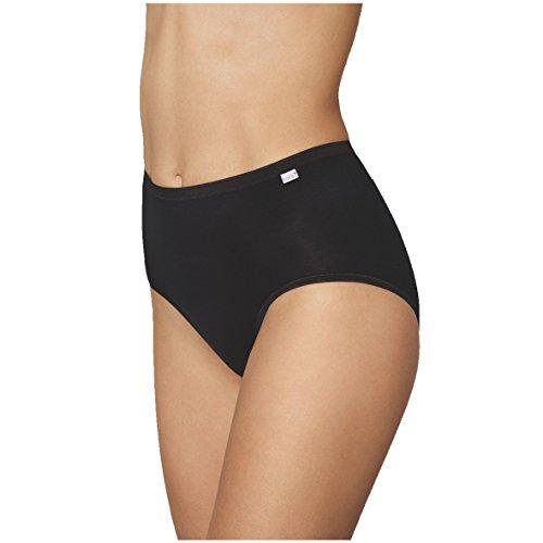 Speidel Damen Basic Taillenslip 5er Pack 9826 Größe 48, Farbe schwarz