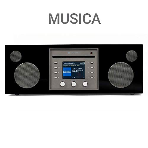 Como Audio: Musica Wireless Speaker - Hand-Crafted Veneer Cabinets- One Touch Streaming,...