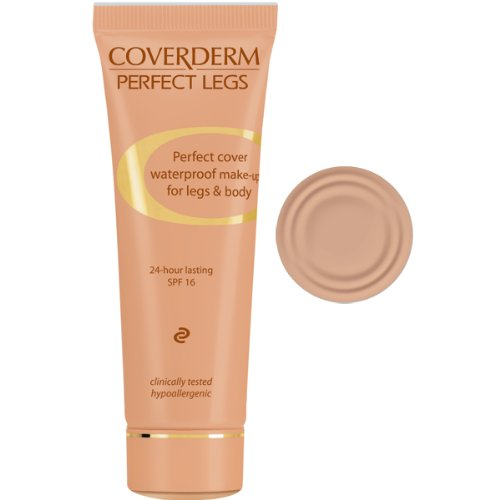 Coverderm Perfect Legs No. 4 Camouflage waterproof Spezial Camouflage 50 ml Tube