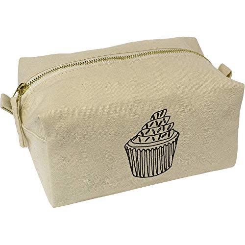 Azeeda 'Cupcake mit Streuseln' Wasch/Make-up Tasche (CS00001309)