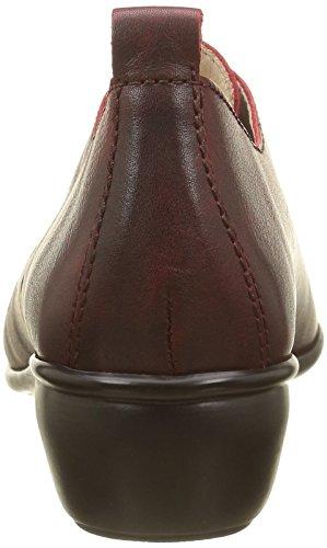 Luxat Damen Harpade Slipper Rot - Rot (Dunkelrot)