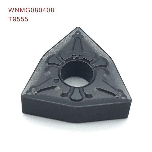 10pcs wnmg080408 t9555 externe drehwerkzeuge carbide einfügen drehbank schneidwerkzeug tokarnyy sich einfügen