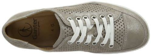 Ganter Giulietta, Weite G, Sneakers Basses Femme Gris (smoke 6900)