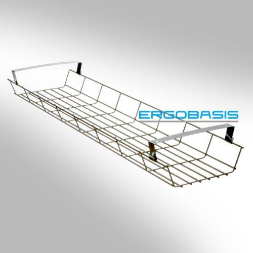 ergobasis-canal-de-cables-cesta-para-cables-estructura-metalica-600-mm-de-largo