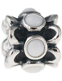 Pandora 790470AGW - Abalorio de plata de ley con ágata (.02)