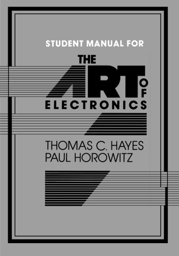 the-art-of-electronics-student-manual-paperback