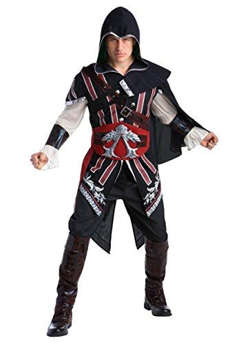 Assassins Creed: Ezio Deluxe Adult Fancy dress costume (Dress Creed Assassin's Fancy Kostüme)