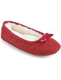 Zapatillas con detalles brillantes para niñas