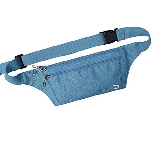 BUSL Wandern Hüfttaschen Männer Außentaschen Sporthandypaket Frau schlank unsichtbare persönliche Sicherheit Reisepass Paket läuft c