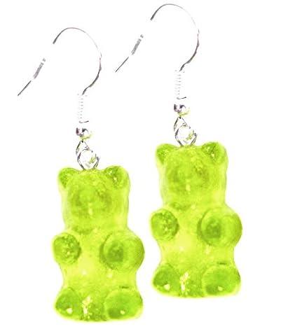 Les Bijoux Acidulés - Boucles d'oreilles bonbon oursons pomme