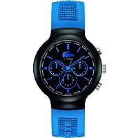 Reloj Lacoste 2010654 de cuarzo para hombre con correa de silicona, color azul de Lacoste
