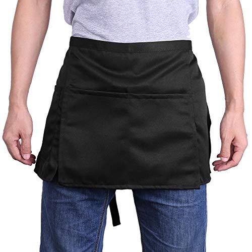 Supportshelp universale unisex grembiule corto grembiule da cucina cameriere grembiule 3
