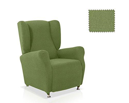 Husse für Ohrensessel Minerva Grösse 1 Sitzer, Standardgröss Farbe Grün(mehrere Farben verfügbar)