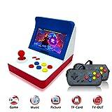 Anbernic Handheld Spielkonsole , Retro Spielkonsole 4.3 Zoll 3000 Klassische Retro Konsole , TV Output Spielkonsole with 2PCS Joystick - Blau