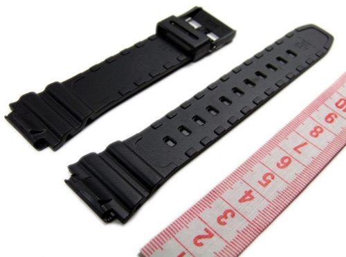 Casio 10365960 Correa para reloj, resina, color negro