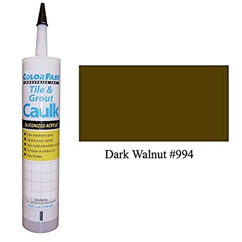 TEC Color Matched Caulk by Colorfast (Unsanded) (994 Dark Walnut) by Colorfast Ind.