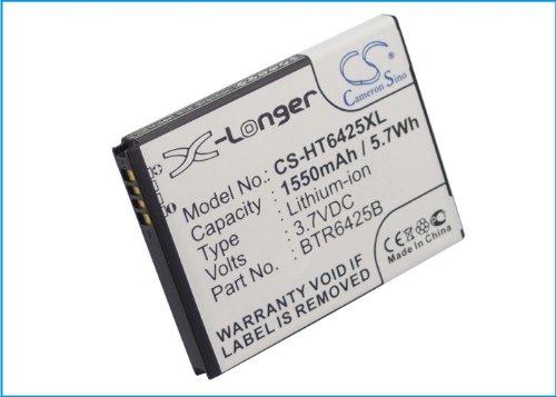 CS-HT6425XL Akku 1550mAh Kompatibel mit [HTC] ADR6425, ADR6425LVW, Desire SV, Droid Incredible HD, Magni, Rezone, Rezound, Rezound 4G LTE, T326e, Thunderbolt 2, Vigor, [VERIZON] ADR6425, ADR6425LVW, (Incredible Akku 4g Droid Lte)
