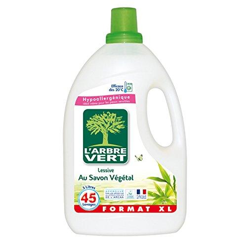 larbre-vert-detersivo-liquido-al-sapone-vegetale-45-lavaggi-ipoallergenico-3-l