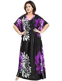 Noty™- Women's Kaftan Nighty - Floral Print
