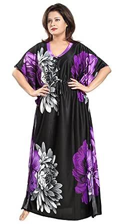 Noty Women's Sarina Floral Maxi Kaftan Nighties