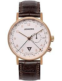 Junkers Herren-Armbanduhr Analog Quarz Leder 67364