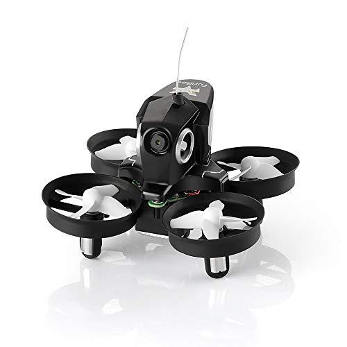HELIFAR Furibee RC Quadcopter Drone Mini Quadcopter Drone con cámara, Furibee FPV Mini Drone H801 WiFi FPV RC Drone 2.4GHz con 720P Camera One Key Return (Negro)