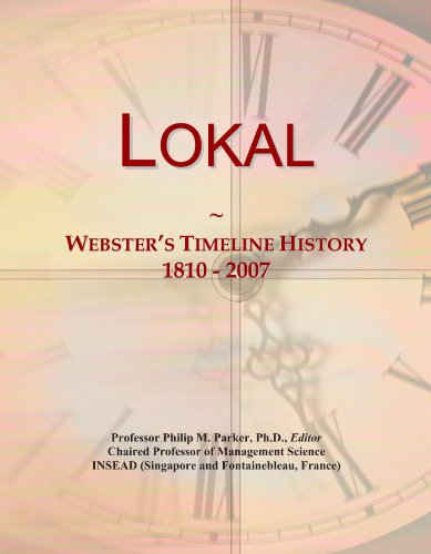 lokal-websters-timeline-history-1810-2007