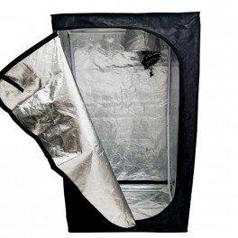 Chambre de Culture Mylar Eco - 150 x 150 x 200 cm - Black Silver
