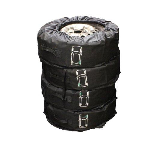 """Felgenbaum Petex Reifentaschenset Premium 4-teilig passend für alle Reifentypen bis 245 mm (14-18"""")"""