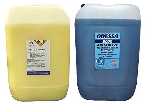 Wash & Wax Citrus Car Wash Schutz Glanz Frostschutzmittel & Summer Kühlmittel–50L