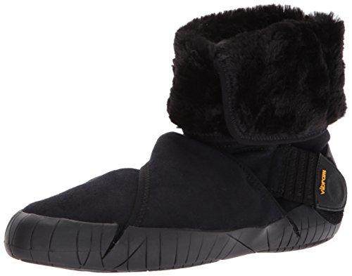Vibram FiveFingers Unisex-Erwachsene Mid-Boot Eastern Traveler Klassische Stiefel, Schwarz Black, 38/39 EU