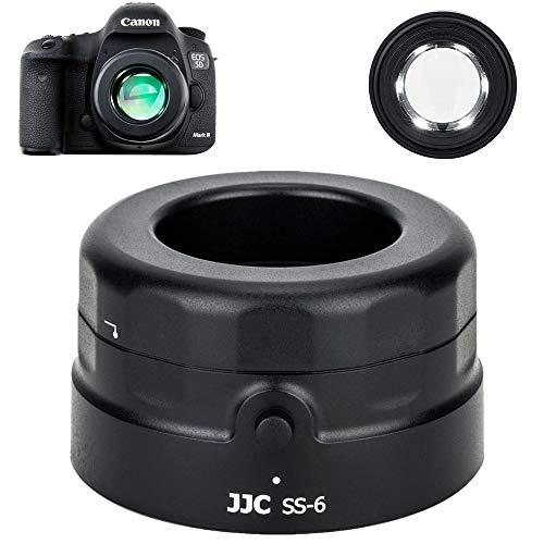 JJC Sensorlupe für Spiegelreflexkamera, CCD CMOS Reinigung, 7-fache Vergrößerung / 6 ultrahelle LEDs/Staubentfernungswerkzeug