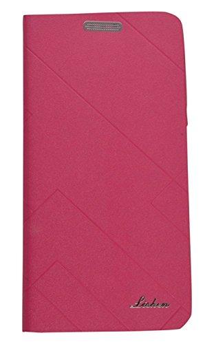 Xiaomi Redmi Note 4 Flip Cover, Shanice® Premium Lishen Wallet Premium Imported Lishen Flip Case Cover Pink Pnk Imported Lishen Flip Cover Diary Case Cover for - Xiaomi Redmi Note 4