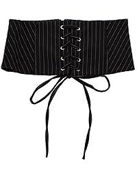 Black Temptation S/ü/ße Liebe dekoriert Wild Silber Taille elastische elastische d/ünne G/ürtel