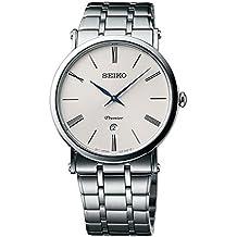 Seiko Herren-Armbanduhr Analog Quarz Edelstahl SKP391P1
