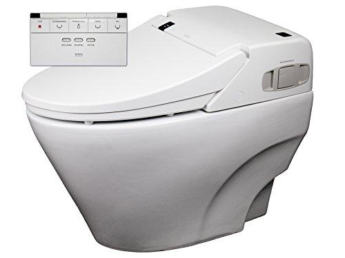 Dusch-WC VOVO TCB2011R Sparpaket Spülrandlos Rim free Tornadoflush Washlet Intimdusche Analdusche Toilette Komplettsystem