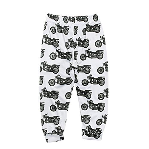 utter & Baby Eltern-Kind-Kleid Kleinkind Baby Kinder Mädchen Jungen Drucken Hosen Familie Hosen Freizeitkleidung ()