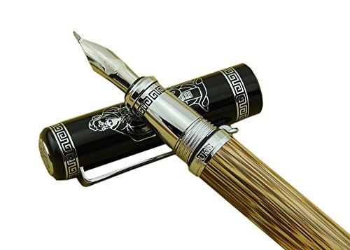 Instrucciones sobre cómo llenar una pluma estilográfica con botella de tinta:https://youtu.be/t8mfof7zpu8 Instrucciones sobre cómo llenar una pluma estilográfica con láser:https://youtu.be/add-he8hrmm Para más fantástico pluma, compruebe por favor n...
