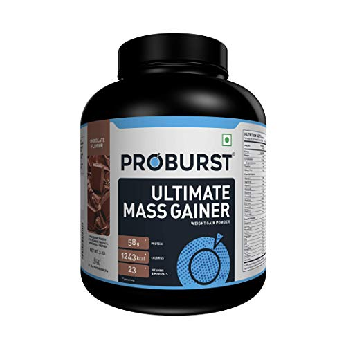 Proburst Ultimate Mass Gainer With 23 Vitamins & Minerals - 3kg (Chocolate)