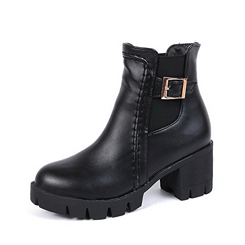 balamasa-womens-chunky-heels-platform-buckle-black-imitated-leather-boots-55-uk