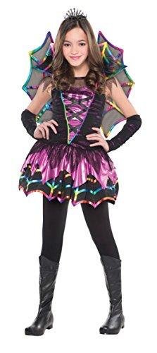 Abendkleid - Spider-Fee-Kostüm - Mädchen im Alter von 4-6 - AMS997811 - Christys (Nicht Lahm Halloween Kostüme)