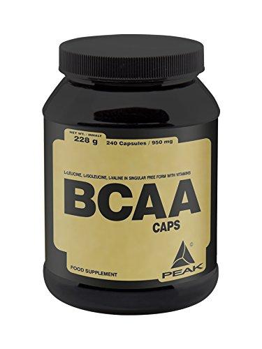 Peak BCAA Caps, 240 Kapseln (240 Flüssigkeit)