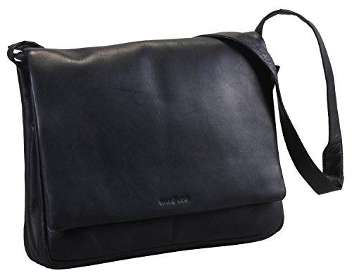 Harold's Campo Classic borsa a tracolla pelle 39 cm Nero
