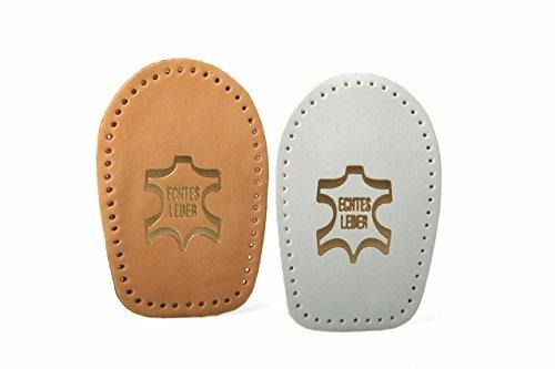 Fersenkissen aus pflanzlich gegerbtem Leder - für alle Schuhe z2040(natur,38 - 40)