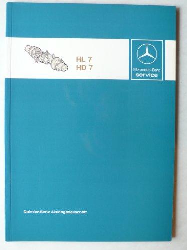 Mercedes-Benz Lastwagen Getriebe HL7/HD7 - Werkstatt-Handbuch - Service