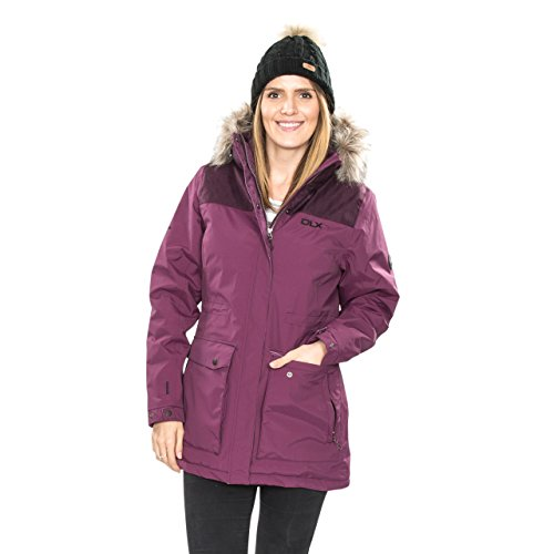 41KagRqVKKL. SS500  - Trespass Women's Garner Outdoor Hooded Waterproof Parka Down Jacket Coat